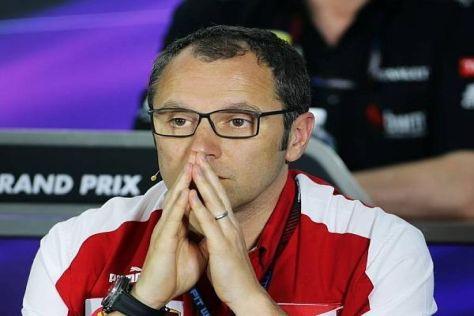 Stefano Domenicali macht sich Sorgen um das Benzinlimit von 100 Kilogramm