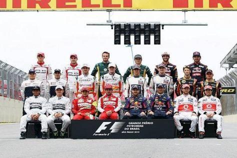 Nicht alle Fahrer der Saison 2013 sind mit ihrer persönlichen Zukunft zufrieden