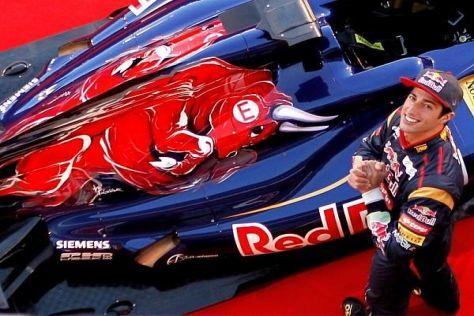 Daniel Ricciardo hat das Sprungbrett Toro Rosso genutzt - nun weht ein frischer Wind