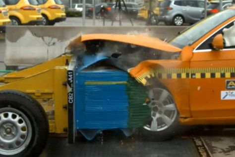 Audi A4 ADAC Crashtest
