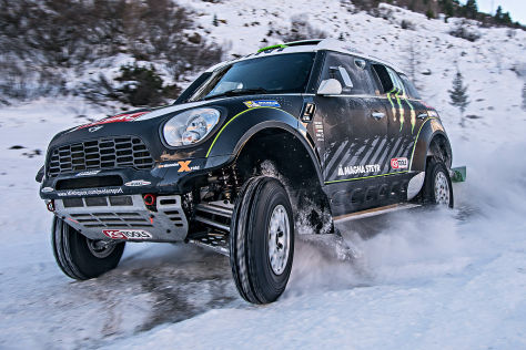 Rallye Dakar: Mini All4 Racing