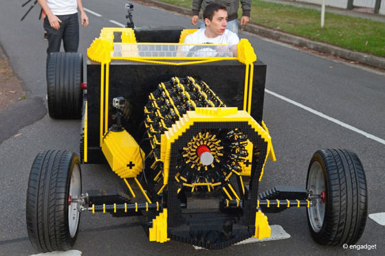 Lego-Auto SAMP