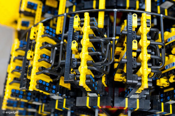 Lego-Auto SAMP: Luftmotor