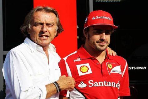 """Luca di Montezemolo versichert: """"Bin mit Fernando sehr zufrieden"""""""