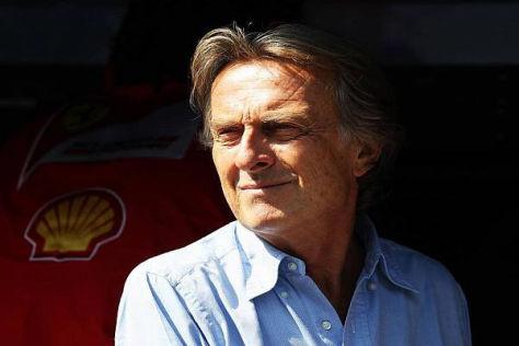 Di Montezemolo hat ein Herz für heulende Motoren - und keine Lust auf Computer