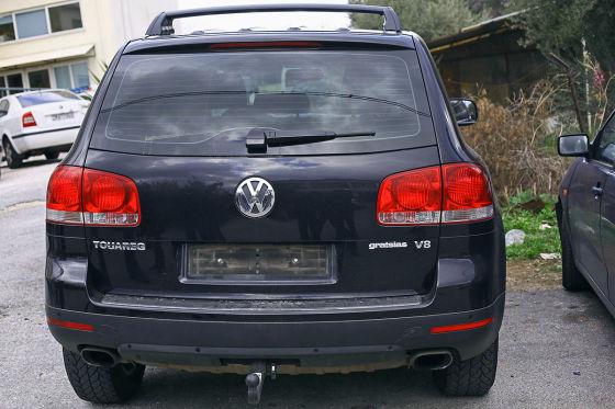 VW Touareg von Ex-Verkehrsminister Michalis Liapis