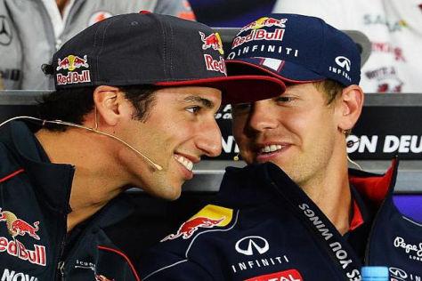 Ricciardo hofft, dass die Regeländerungen Vettel etwas einbremsen