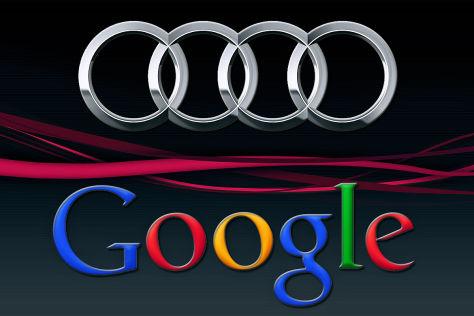 Audi und Google wollen kooperieren