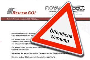 KBA warnt vor Stahlr�dern