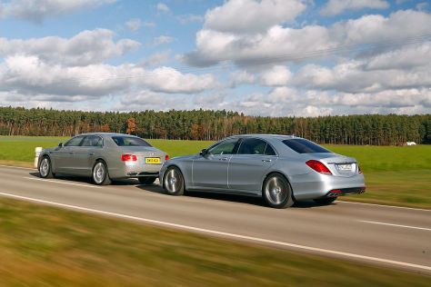 Mercedes S 63 AMG L 4Matic Bentley Flying Spur