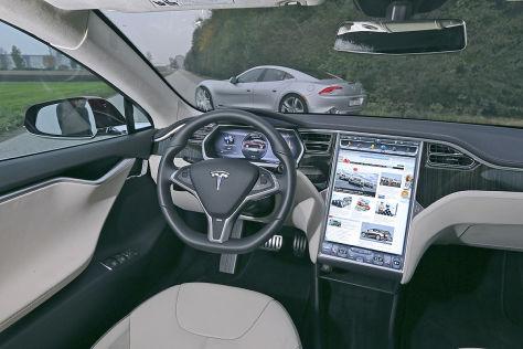 Vernetzung im Tesla Model S