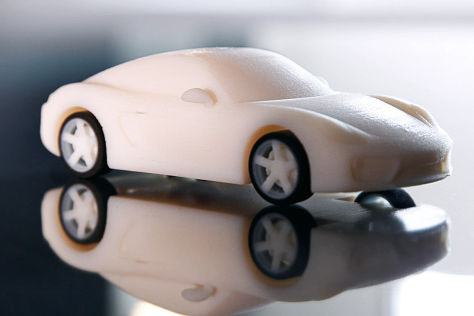 Porsche Cayman aus dem 3D-Drucker
