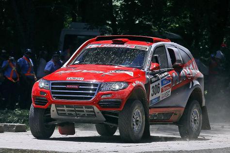 Rallye Dakar 2014: 1. Etappe