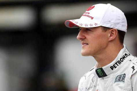 Michael Schumacher verunglückte kurz nach seiner Hilfestellung selbst