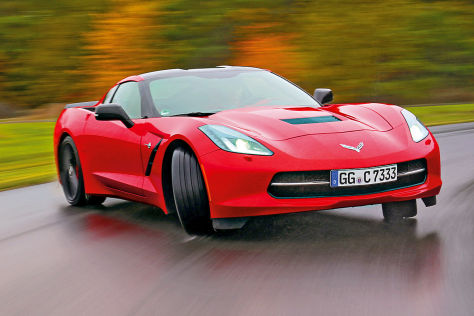 Corvette Stingray: Mit Kamera und Analyse-Tool