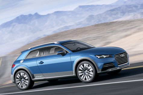 Audi Allroad Shooting Brake Concept Detroit 2014