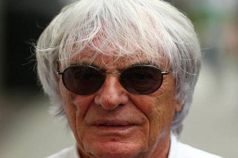 Bernie Ecclestone ist ein Freund der doppelten Punkte beim Finale
