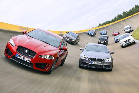 Zehn Autos im Vollgas-Test