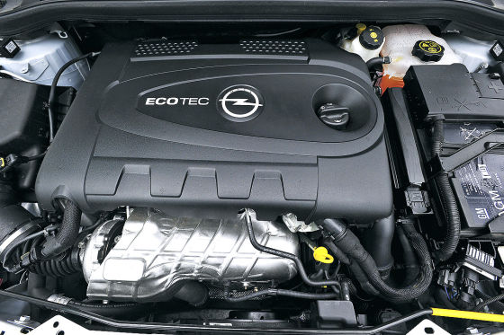 Opel 1,6-Liter Ecotec Direct Injection Turbo (Benzindirekteinspritzer)