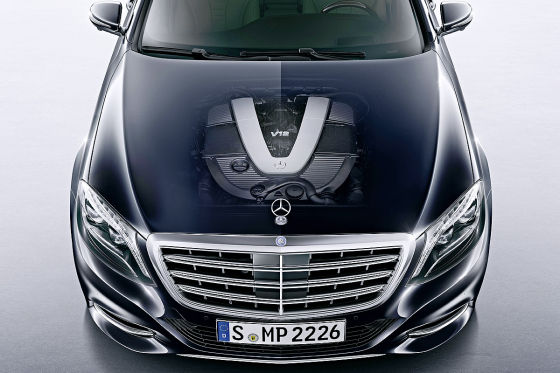 Mercedes S-Klasse S 600 (W 222)