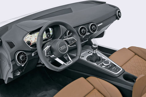 Audi TT Cockpit (2014)
