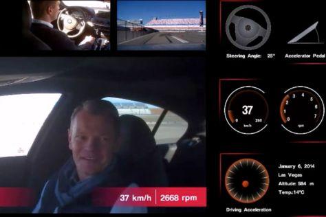BMW ConnectedDrive: Mitfahrt im autonomen Auto auf der CES 2014