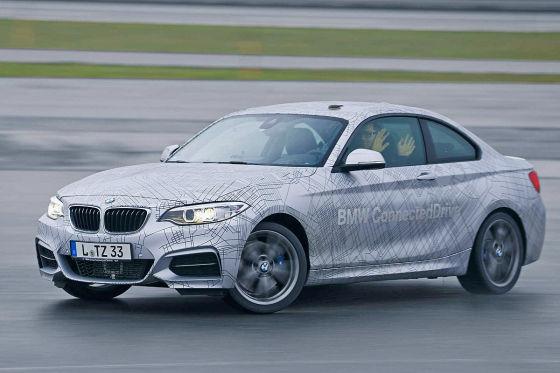 BMW ConnectedDrive driftet autonom