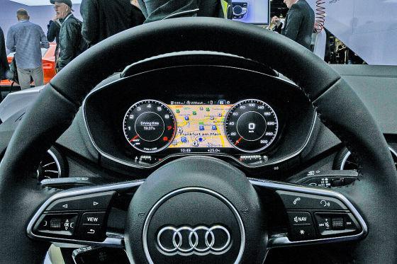 Cockpit neuer Audi TT