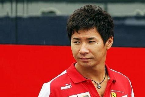 Kamui Kobayashi stand 2013 voll in Diensten von Ferrari