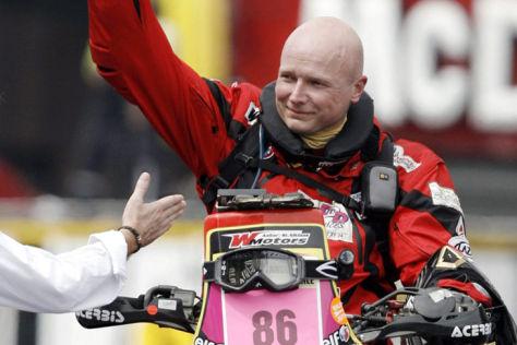 Rallye Dakar 2014: Motorradpilot verunglückt