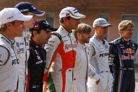 2010 kamen sieben Fahrer - fast ein Drittel der gesamten Formel 1 - aus Deutschland