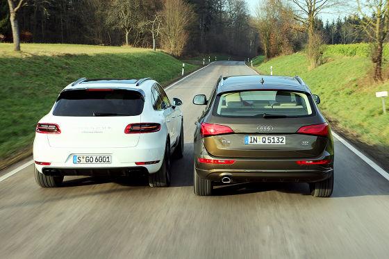Audi Q5 Porsche Macan