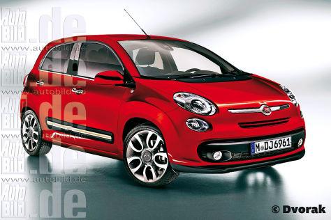 Fiat Punto-Nachfolger wird der fünftürige 500