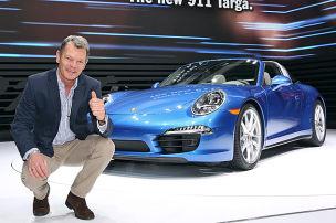 Große Show des 911 Targa