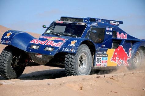 Peterhansel auf der Rallye Dakar 2014