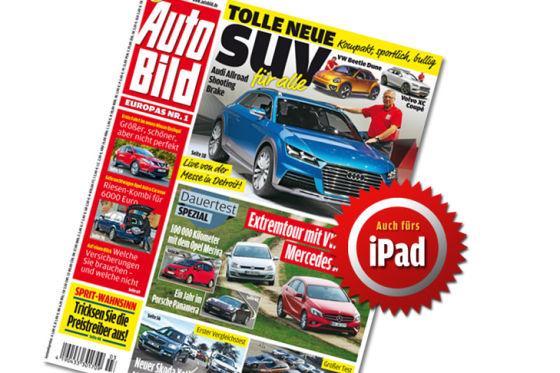 Titel Auto Bild 03-2014 iPad