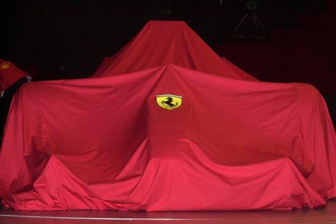 Ferrari Formel 1-Auto für die Saison 2014