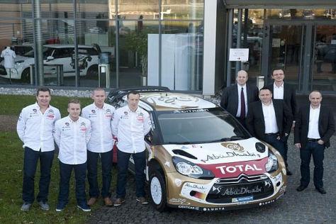 Mads Östberg und Kris Meeke greifen 2014 für Citroen in der WRC ins Lenkrad