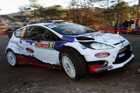 Bryan Bouffier führt die Rallye Monte Carlo nach der dritten Wertungsprüfung an