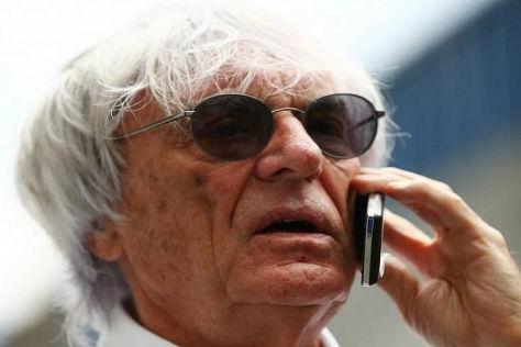 Ecclestone wird ab April wohl mehrfach aus dem deutschen Handynetz telefonieren