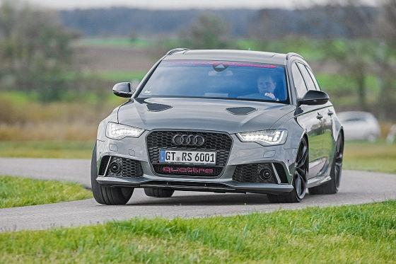 Audi HGP RS 6 Avant metallic Frontansicht