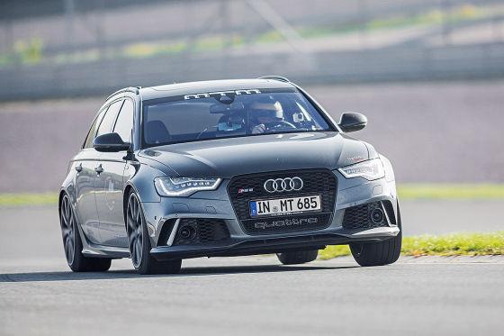 Audi MTM RS 6 Avant metallic Frontansicht