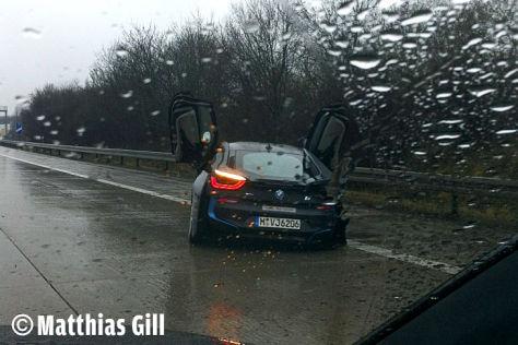 BMW i8: Unfall
