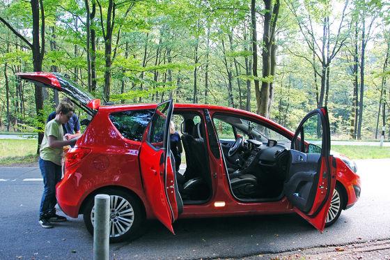 Opel Meriva, FlexDoor-Konzept