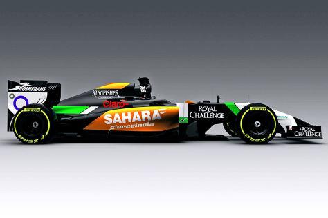 Formel 1 2014: Autovorstellung