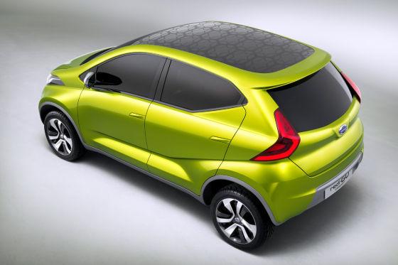 Datsun Redi-Go: Minivan-Studie