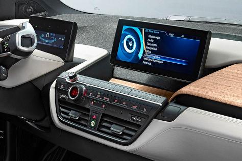BMW i3: Navi gegen Aufpreis