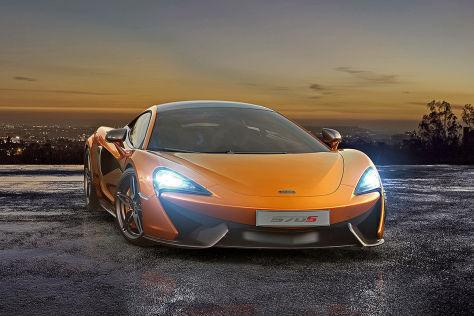 Erlkönig McLaren P13 (2014)