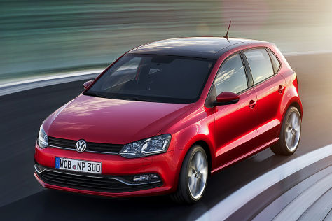 VW Polo Facelift 2014