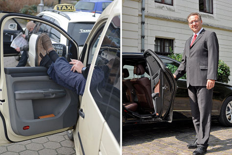 Taxigewerbe: Berlin auf dem Weg zum Zwei-Klassen-Taxi?
